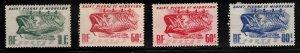 ST PIERRE & MIQUELON Scott # 328-30 MH - Fishing Industry Symbols 60c Shades