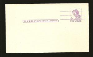 USA UX48 Lincoln 4Cent Postcard Unused