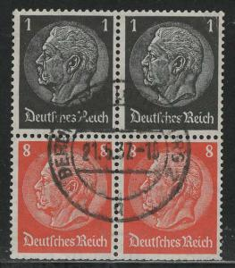 Germany Scott # 415 (2), 420 (2), used, se-tenant, Mi# S135