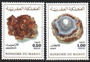 Morocco. 1975. 797-98. Minerals. MNH.