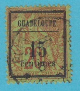 GUADELOUPE 4 USED NO FAULTS VERY  FINE !