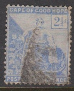 Cape of Good Hope Sc#57 Used - corner fault top right