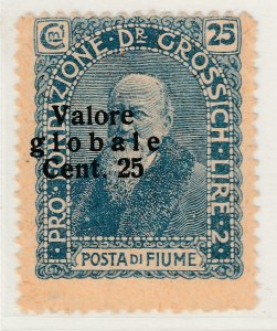 Fiume 1920 Surcharge 25c on 25c Very Fine MNG Stamp A21P11F4966