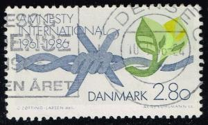 Denmark #790 Barbed Wire; Used (0.50)