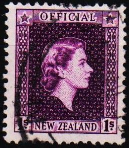 New Zealand. 1954 1s S.G.0166 Fine Used