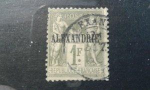 French - Alexandria #13 used e1912.5853