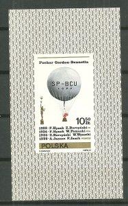 1981 Poland 2439 Gordon Bennett Cup Winners MNH S/S