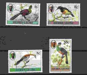 Sierra Leone MNH Various Birds Fauna