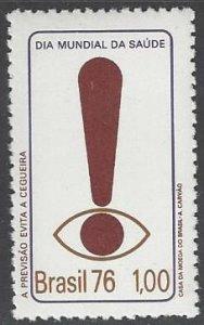 Brazil 1428 MNH  World Health 1976