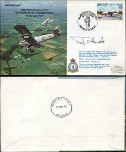B16b 70th Anniv of the Formation of No.17 Squadron Pilot Signed (D)