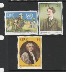 Ireland 1985 Anniversaires UM/MNH SG 618/20