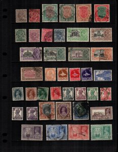 India offices and states 37 diff used and mint
