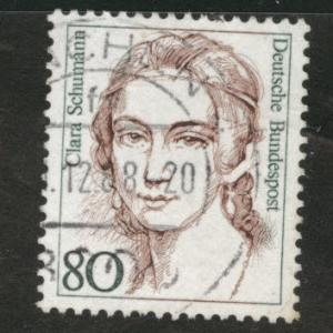 Germany Scott 1483 used 1986-91 Famous Women stamp