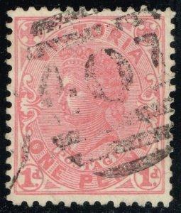 Australia-Victoria #219 Queen Victoria; Used (2Stars)