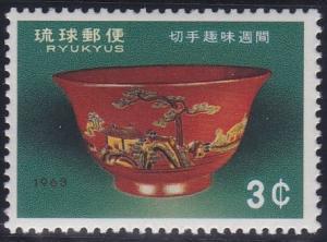 Ryukyu Islands 112 MNH (1963)