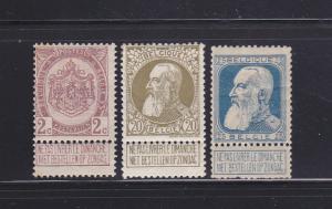 Belgium 83, 86-87 MHR Various