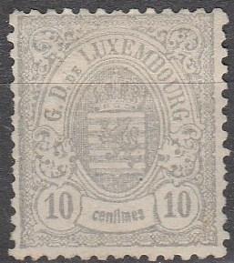 Luxembourg #33 F-VF Unused CV $600.00 (C3340)