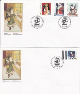 Canada # 1499-1502, Christmas, First Day Cover