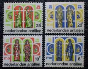 Netherlands Antilles Scott #304-307 mnh