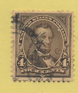 United States (U.S.) Stamp Scott #254, Used - Free U.S. Shipping, Free Worldw...
