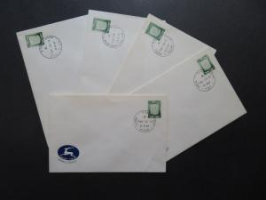 Israel 15 Different 1967 Occupied Territory Covers - M291
