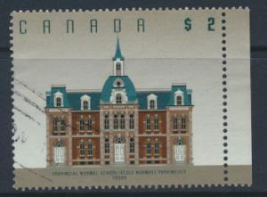 Canada  SG 1480   Used  Provincial Normal School  Truro few light parcel bends