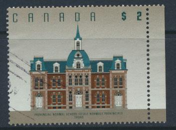 Canada  SG 1480   Used  Provincial Normal School  Truro few light parcel bends