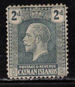CAYMAN ISLANDS Scott # 54 MH - KGV Definitive