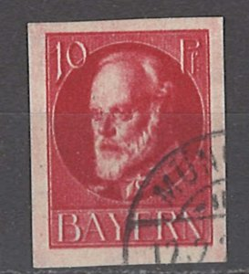 COLLECTION LOT OF #1215 BAVARIA # 121 1916 CV = $14.50