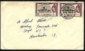 NIGERIA 1959 cover to Uk ex ABAKALIKI.....................................98371W