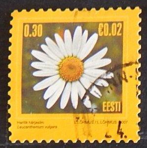 Эстония, Flowers, (№1519-Т)