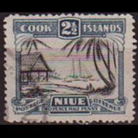 COOK IS. 1933 - Scott# 94 Islanders 2.5p Used