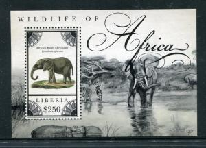Liberia 2809 MNH Wildlife of Africa Elephants Wild Animals 2012. x28578