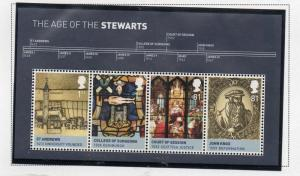 Great Britain Sc 2774 2010 House of Stewart stamp sheet mint NH