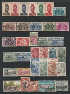 Cameroon (French) a page of MH & odd used