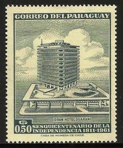 Paraguay 1961 Scott# 602 MH