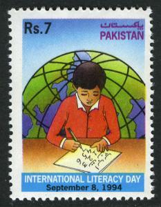 Pakistan 806, MNH. Intl. Literacy Day, 1994