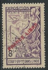 French India  ^ Scott # 135B -Used