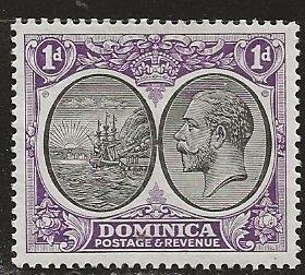 Dominica | Scott # 66 - MH