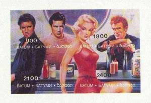 Batum 1995 Hollywood Stars (Elvis, Marilyn Monroe, Marlon...