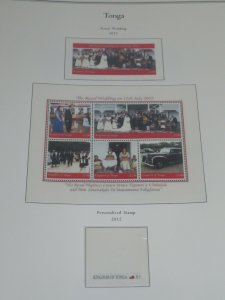 3 Tonga Palo Premium Albums with Hingeless Color Pages 1847-2012 Retail $1200+