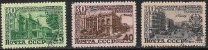 RUSSIA USSR 1950 AZERBAIJAN SSR Set Sc 1474-1476 CTO Used