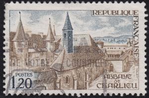 France 1335 USED 1972 Charlieu Abbey 1.20Fr