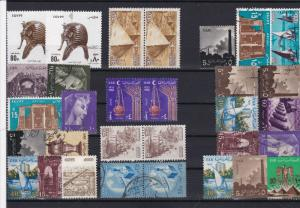 egypt collectable stamps ref r12370