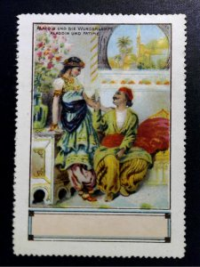 German Poster Stamp - 1001 Nights - Sinbad's Second Adventure