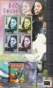 Guyana #3899-3902 MNH  CV $15.75  (A17718L)
