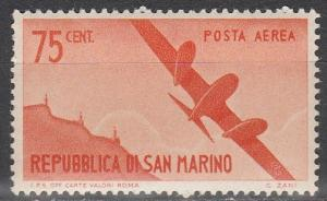 San Marino #C42 F-VF Unused  (S2043)