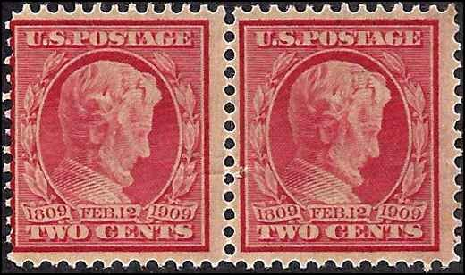 #367 Mint,DG,NH... Pair... SCV $19.00