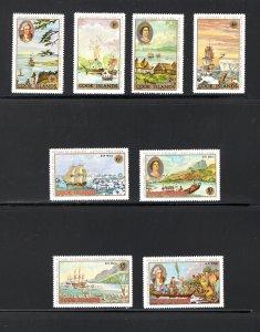 Cook Islands, Scott 233-6, C12-15,   VF,  MNH,  CV $3.20   ........ 1500201