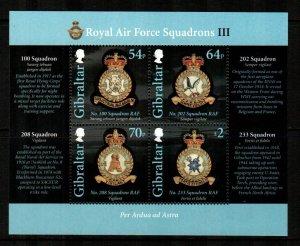 Gibraltar #1481  MNH  Scott $12.50   Sheet of 4
